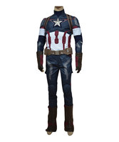 Avengers Age Of Ultron Captain America 3 Steve Rogers Uniform Outfit Movie Costume Superhero Outfit Halloween