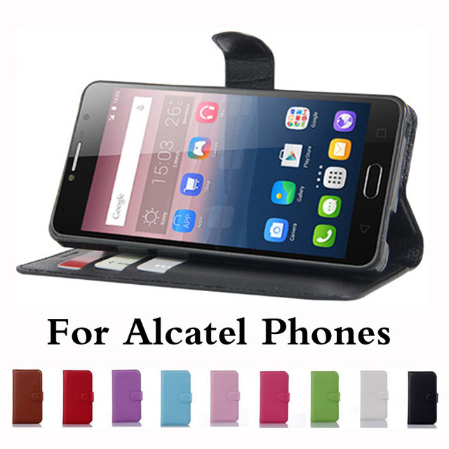 US $3 2 |For Alcatel Shine Lite Fierce 4 Pop 4s Plus Dawn 5027 Flash Plus 2  PIXI4 GO Play First PIXI IDOL 4S Wallet Flip PU Leather Case-in Flip Cases