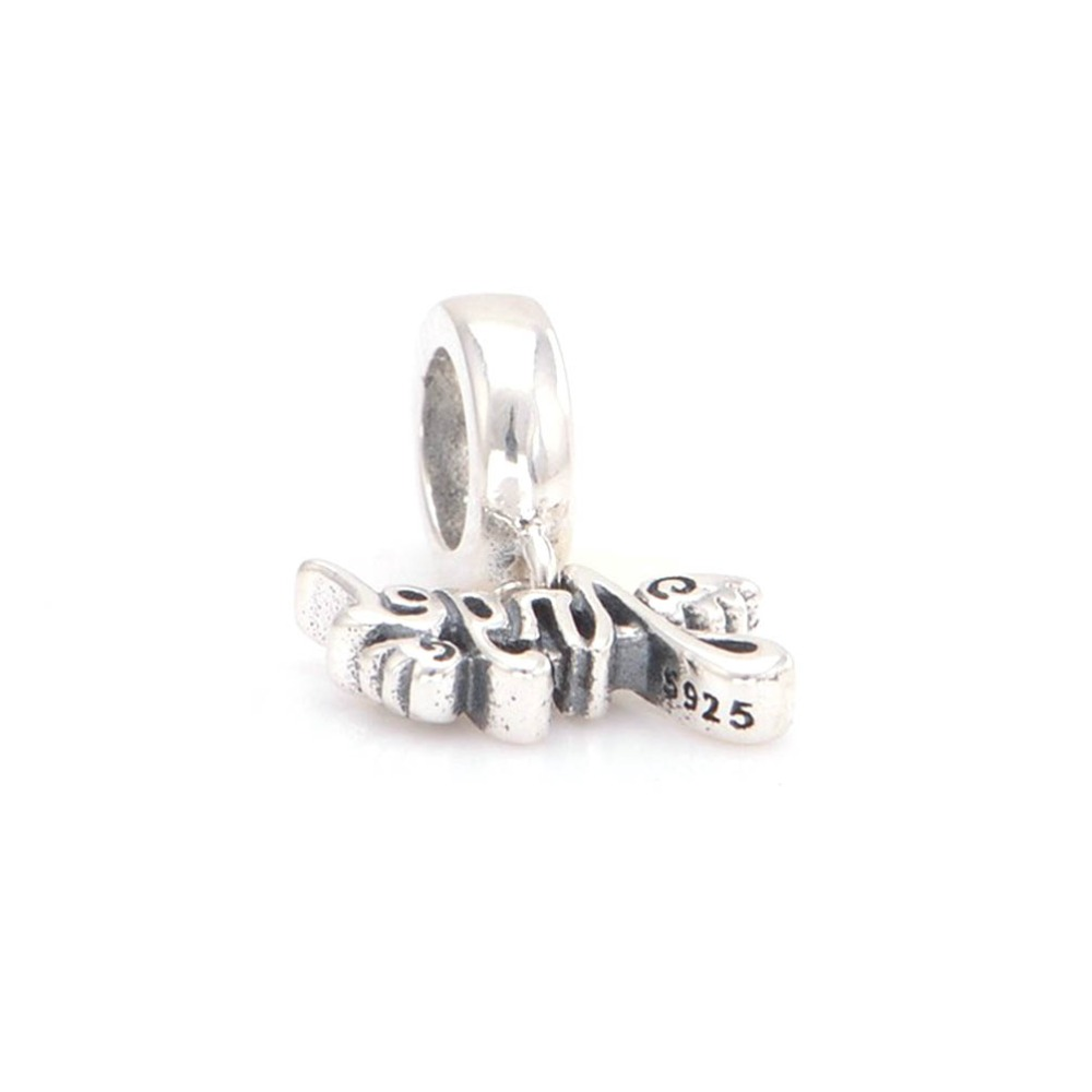 3882725f8 Charmlead 925 Sterling Silver Angel Wing Charm Pendant Fits Pandora Charms  Bracelet Necklaces & Pendants-in Charms from Jewelry & Accessories on ...