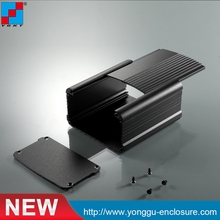 95*55*100mm (wxhxl) Customized high grade extruded large aluminum enclosure 82 8 28 8 100 mm wxhxl aluminum enclosure profiles