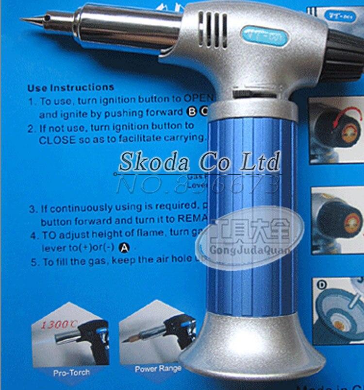 Kostenloser versand automatische 3 in-1 Multifunktions Auto-zündung gas lötkolben Schweißen, heißer air guns, flamme Einstellbare Schalt