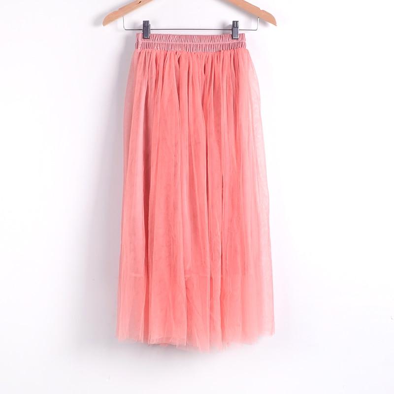 Beauty Long Tulle Skater Skirt 6