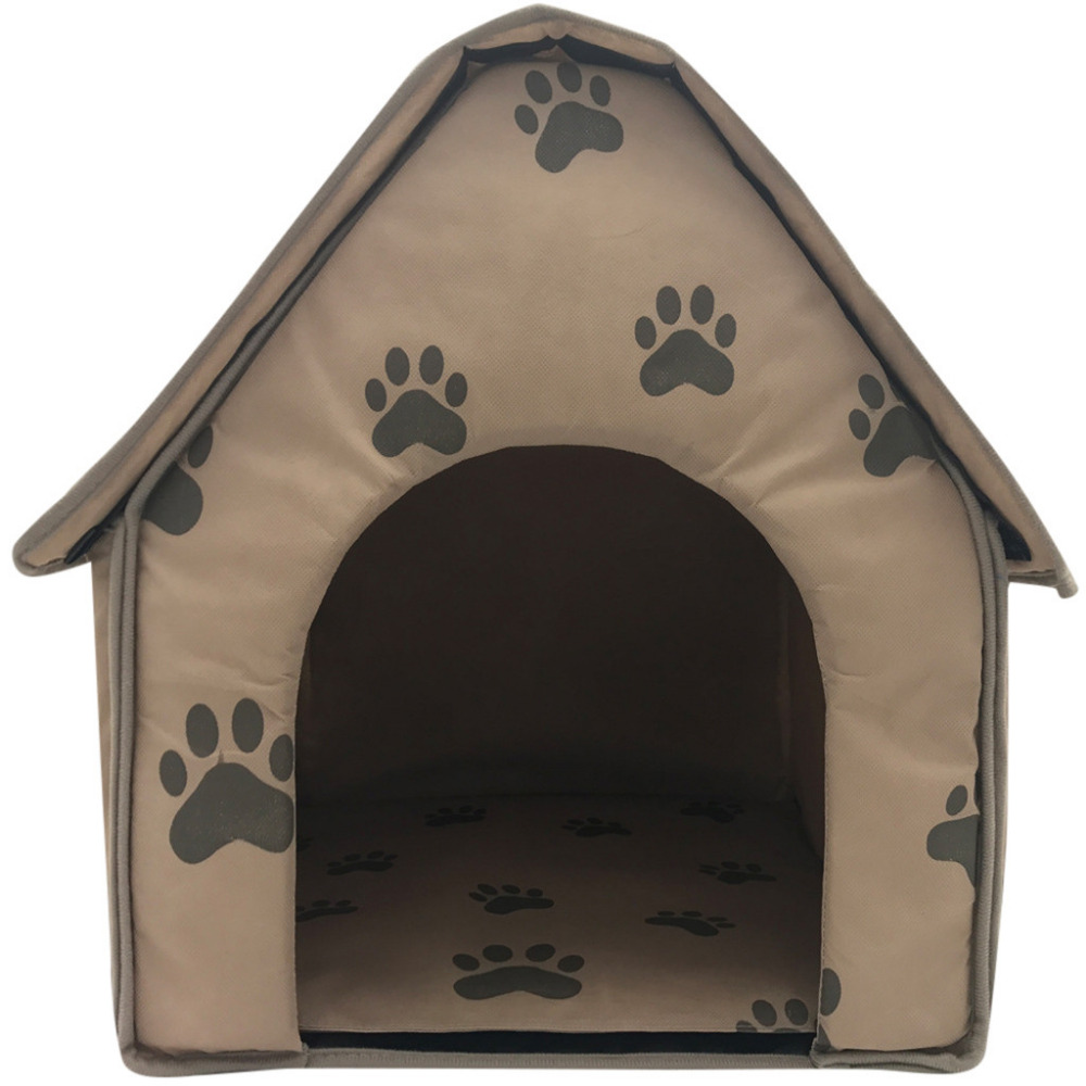 2019 Top Fashion Foldable Dog House Small Footprint Pet Bed Tent Cat Kennel Indoor Portable Travel dog accessories chien hond image