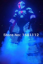 led robot suit / l ed light suit /costume leds / luminous costumes / led lights costumes