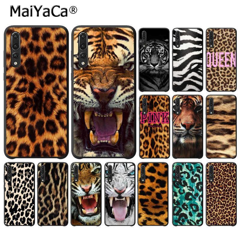 Мягкий чехол для телефона MaiYaCa Tiger Leopard Print Panther Huawei P10 plus 20 pro P20 lite mate9 10 honor view10