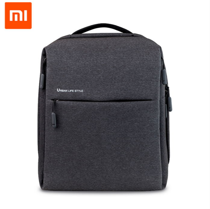 Xiaomi Backpack Mi Minimalist Urban Life Style Polyester Backpacks for School Business Travel Men's Bag Large Capacity image