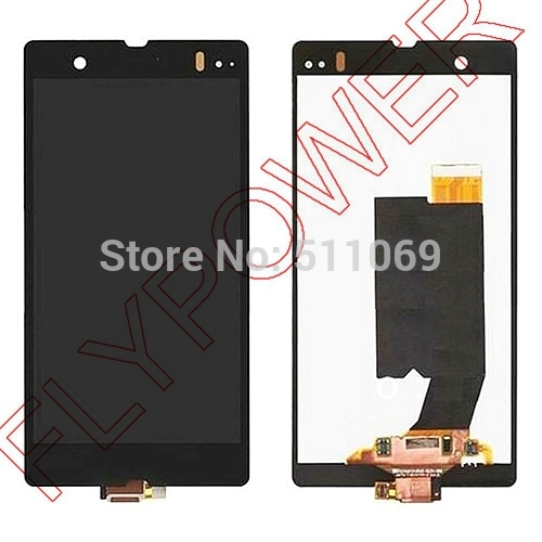 ФОТО For Sony For Xperia Z LT36i LT36h LT36 C6603 C6602 L36H LCD Screen Display with Touch Screen Digitizer Assembly by free shipping