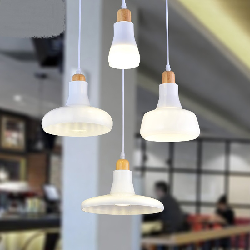 Industrial Nordic glass pendant lights modern Restaurant Bar Art creative personality cafe store clothing store lamps ZA vintage bird pendant light glass pendant lights contemporary creative retro art glass cafe restaurant study lamps