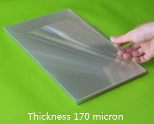170micron A4 Clear Transparent Plastic Report Cover Polypropylene Acetate Sheet 2/10/30/50/100pcs You Pick