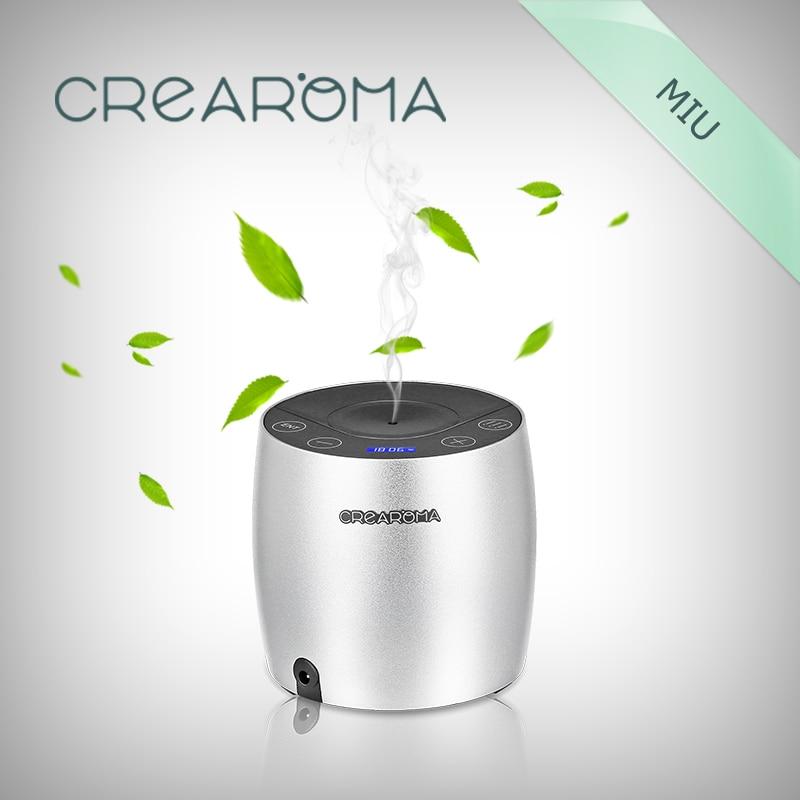 Crearoma mini aluminum Aroma Fragrance Diffuser 2017 crearoma 60ml bottle aluminum alloy aroma oil diffuser