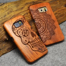 Retro Natural Wood Case For Samsung Galaxy & iPhone