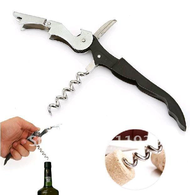 WOWSHINE 100 шт дешевые штопор для вина из нержавеющей стали/Высокое качество открывалка для бутылок