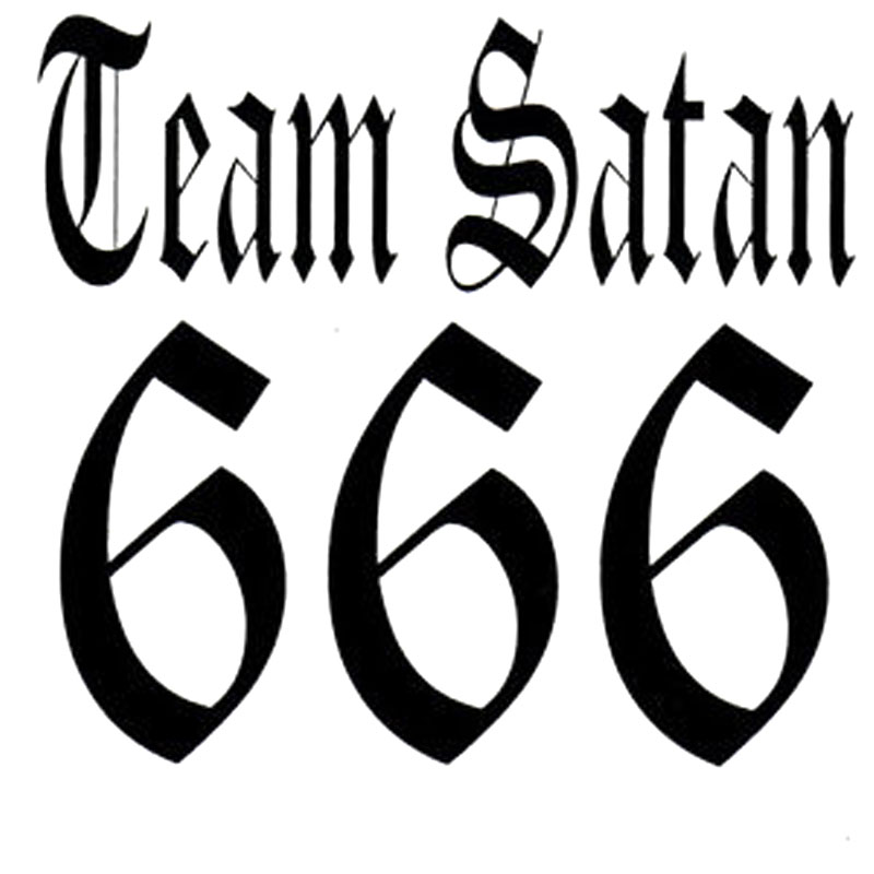 Lucifer Font: Online Buy Wholesale 666 Number From China 666 Number