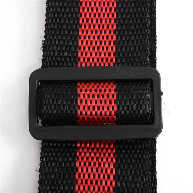 Adjustable Durable Striped Guitar Straps