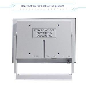 Image 3 - 7 inch white BNC LCD monitor medical equipment industrial equipment computer monitor HDMI mini screen