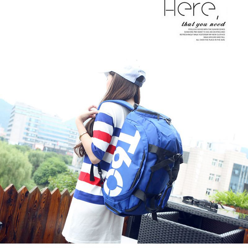 Sport Gym Bag Women Men Fitness Waterproof Outdoor Separate Space For Shoes Pouch Rucksack Hide Backpack Sports Bags For Fitness