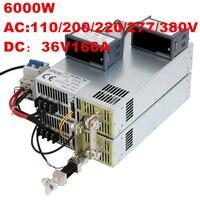 6000 Вт 36 В 166A 0 36 В источника питания 36V166A AC DC высоком Мощность PSU 0 5 В аналоговый сигнал управления DC36V 166A 110 В 200 В 220 В 277VAC