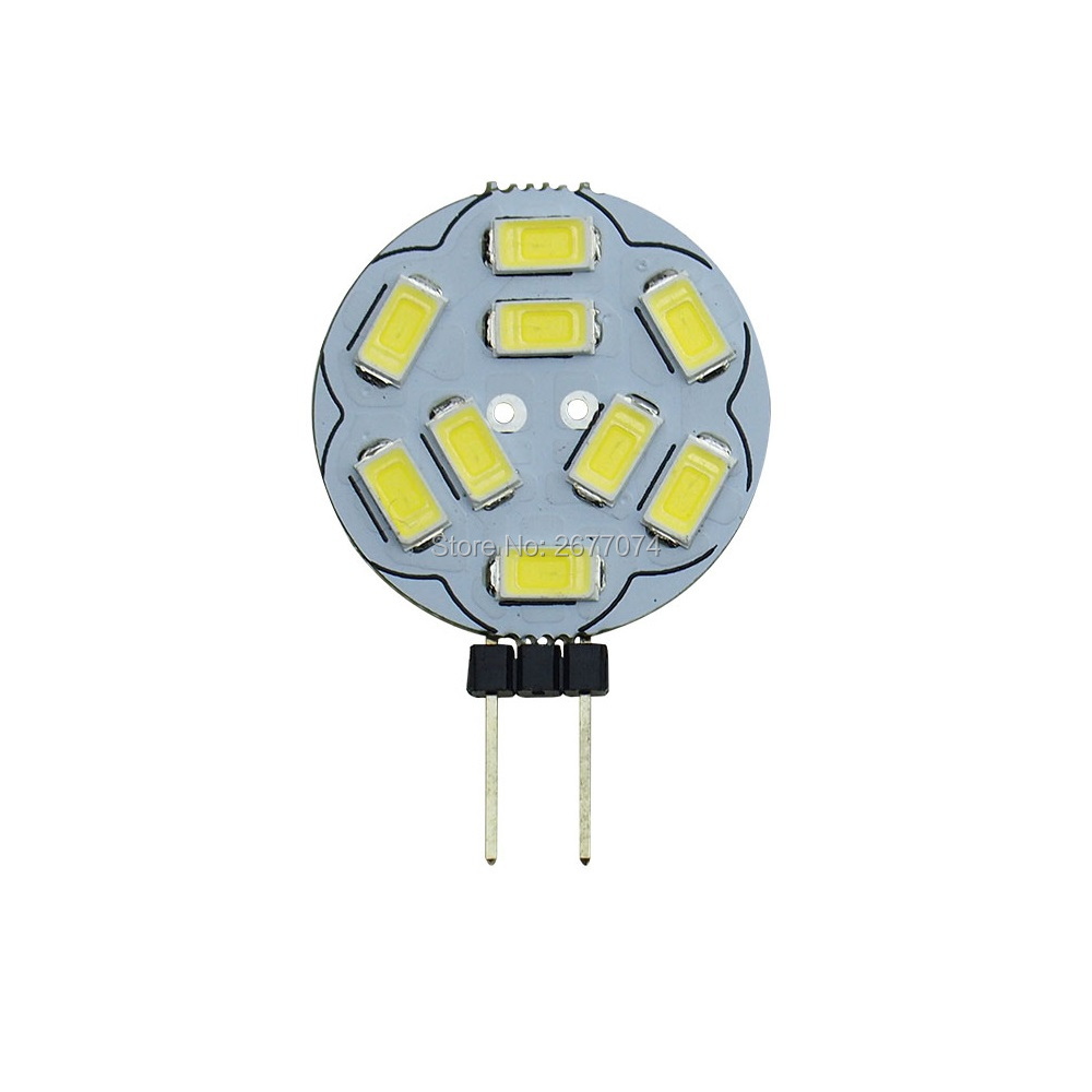 G4 2W 9LED SMD5730 400-450LM Warm White Or White Desk Lamp Wall Lamp Night Light DC12V LED Bi-pin Lights 1PCS JTFL145-1