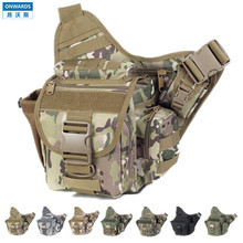 ONWARDS Outdoor Military Camera Messenger Bags Tactical CP Camouflage Camera Cases Bags Men&women's Waterpoof 1000D Nylon