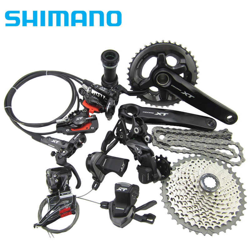 Shimano Deore XT Drivetrain M8000 Group MTB bike bicycle Group Set  1x11s/2x11s 11/22 speed