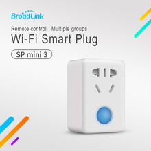 Unique Broadlink SP Mini three Wifi Management Plug Sensible Dwelling Socket 10A Timer Automation Management for IOS & Android By Smartphone