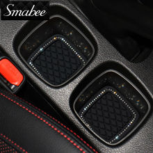 Smabee Door Groove Mat For Suzuki S-cross Gate slot pad Automotive interior Anti-Slip Mat Stowing Tidying mat