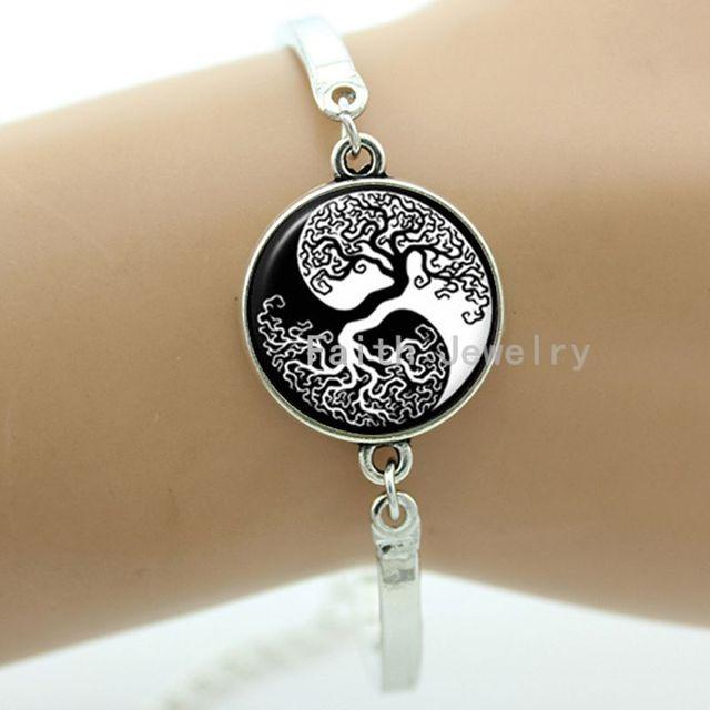 Yin Yang Life Tree Braceletsymbol Of Classy Elegant Easymay You