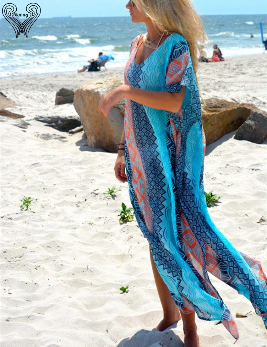 Turkse gewaden grote strand bedekken strand bedekken strand tuniek saida de praia badmode bikini bedekken vrouwen strand capes h387