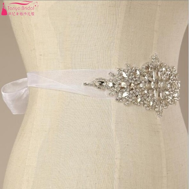 Hand-beaded diamond sparkling Wedding crystal belt Free Shipping Bling Bling Belts