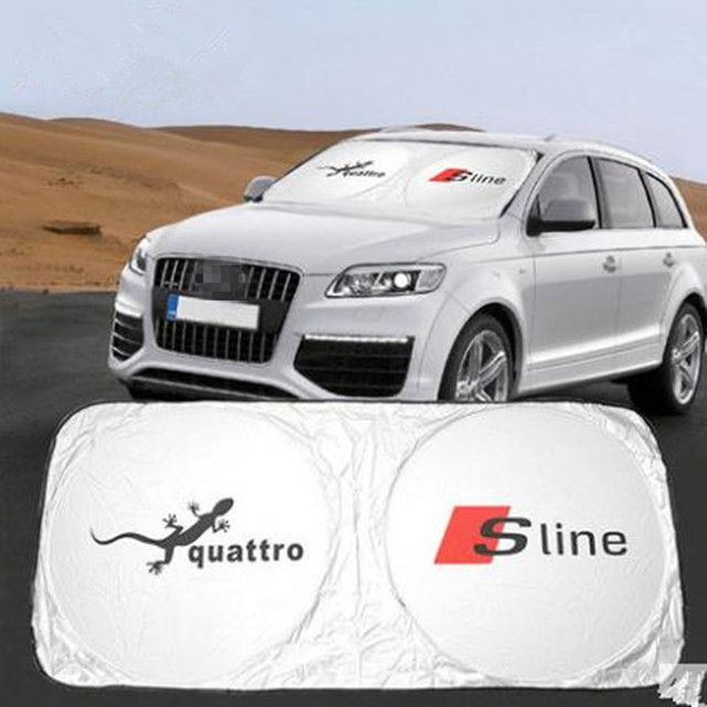 Tyvek Dupont Car Front Windshield Car Accessories Sunshade For Audi Quattro  Q5 Q7 Sline 900ee78f86f