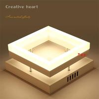 NEO Gleam Rectangle Remote Control Living Room Bedroom Modern Led Ceiling Lights Luminarias Para Sala Dimming