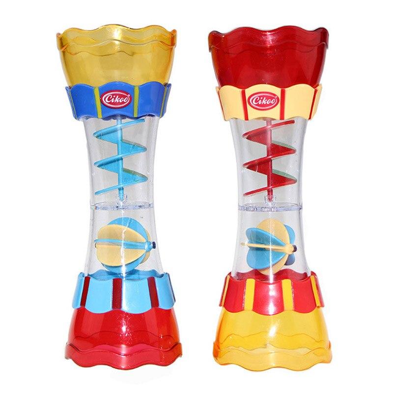 Cikoo children bathroom bathing toys water leak column baby swivel water cup kaleidoscope toys BM88