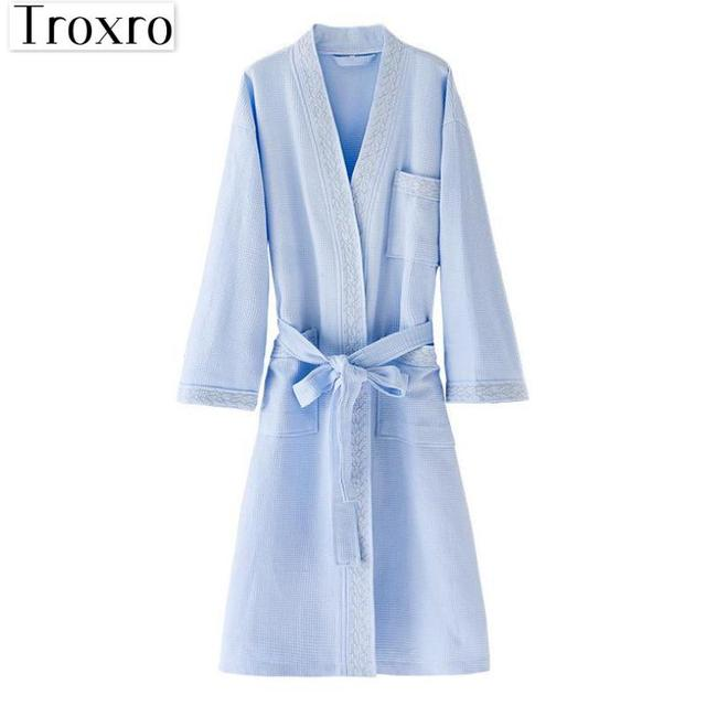 Bathrobe Men Long Sleeves Robe Regular Sleeve Bathrobes Man ...