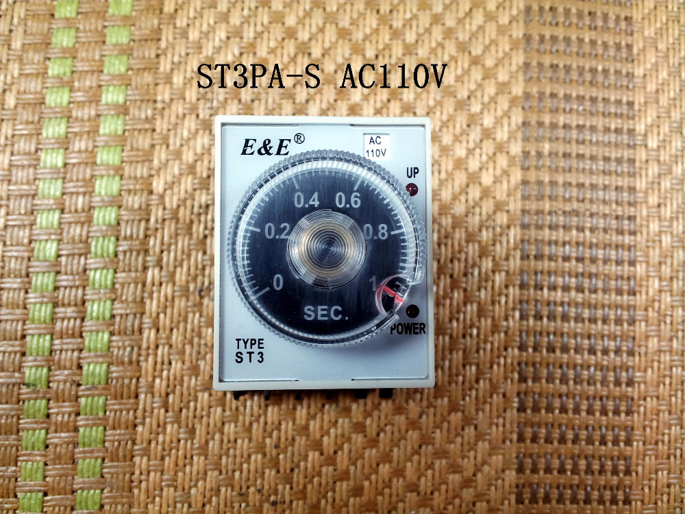 New authentic Wuxi radio factory time relay ST3PA-S AC110V 1S new time new time ci g1286