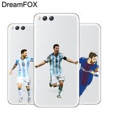 DREAMFOX M259 Messi Soft TPU Silicone Case Cover For Xiaomi Mi Note 2 3 4 5 6 8 SE M5 4C 4S 5C 5S 5X 6X A1 Plus стоимость