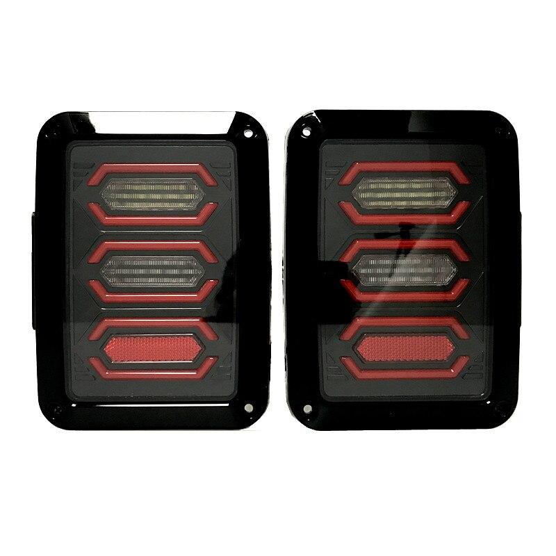 For tail lights LED light LED tail Lights LED Lamps Brake Turn Signal For 07 16