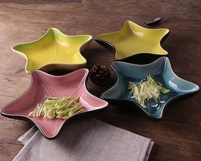 Ou0027live Starfish Dessertteller Keramische Dekor Keramikplatte Designs  Kreative Gerichte Für Salat(China (