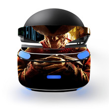 2 Styles Nightmare Freddy Krueger Design Decal Skin Sticker for Sony Playstation PS VR PSVR Headset