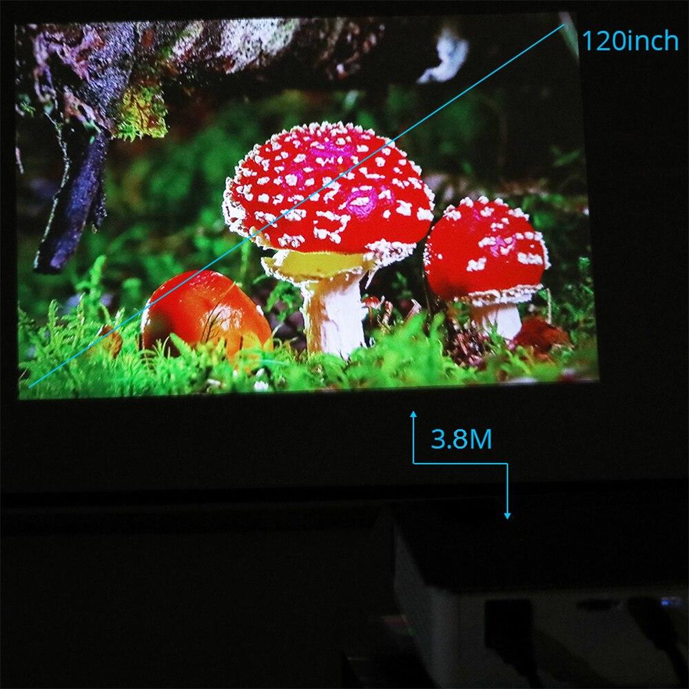 1080P 3800Lumen Home projecteur 33