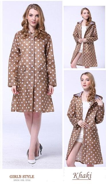 Moda Chubasqueros para mujer chaqueta al aire libre