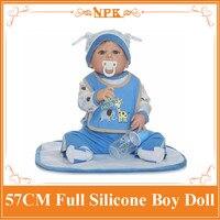新しいオンライン57センチフルシリコーンボディ生まれ変わった人形缶風呂でキッズホット歓迎遊びのため赤ちゃん約3年古いとしてギフ