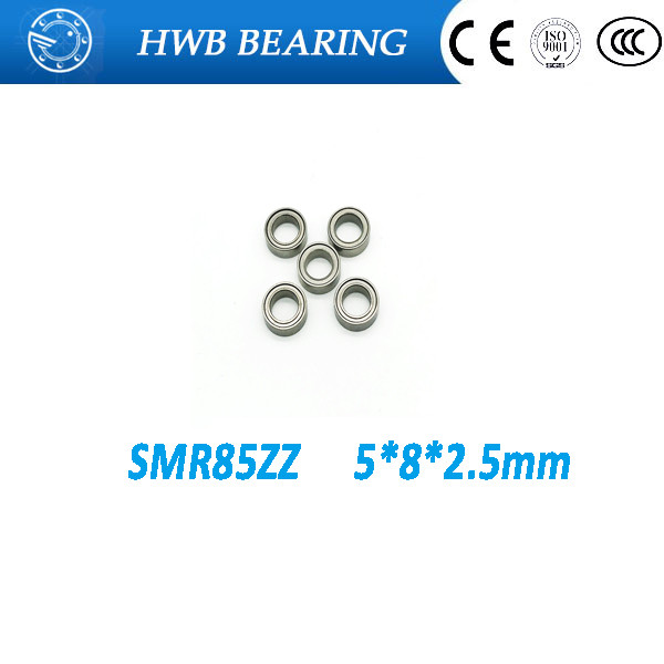 Free shipping 10pcs SMR85ZZ SMR85 ZZ S675ZZ B675ZZ Stainless steel deep groove ball bearing 5x8x2.5 mm miniature bearing 440C 8 pcs 135mm stainless steel hollow ball mirror polished shiny sphere for garden ornament free shipping