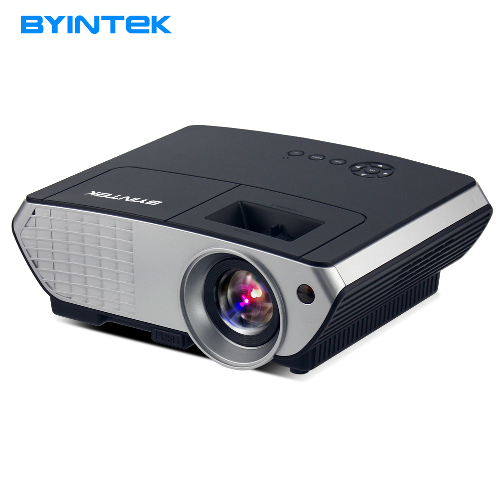 BYINTEK Brand MOON BL126 HDMI USB LCD Multimedia Home Theater HD 1080P Video Portable LED Projector (Optional Android WIFI) new h88 lcd led video micro multimedia projector home theater