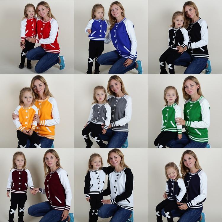 ⑧Jumper sweater Tops Ropa a juego para familias pullover invierno ...