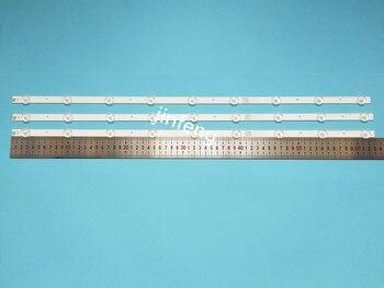 60 unidades de tiras de placa de aluminio Universal con retroiluminación LED de 32 pulgadas SVA75DA03 para Samsung/para LG para Sharp TV 9-LEDs 630mm 3v