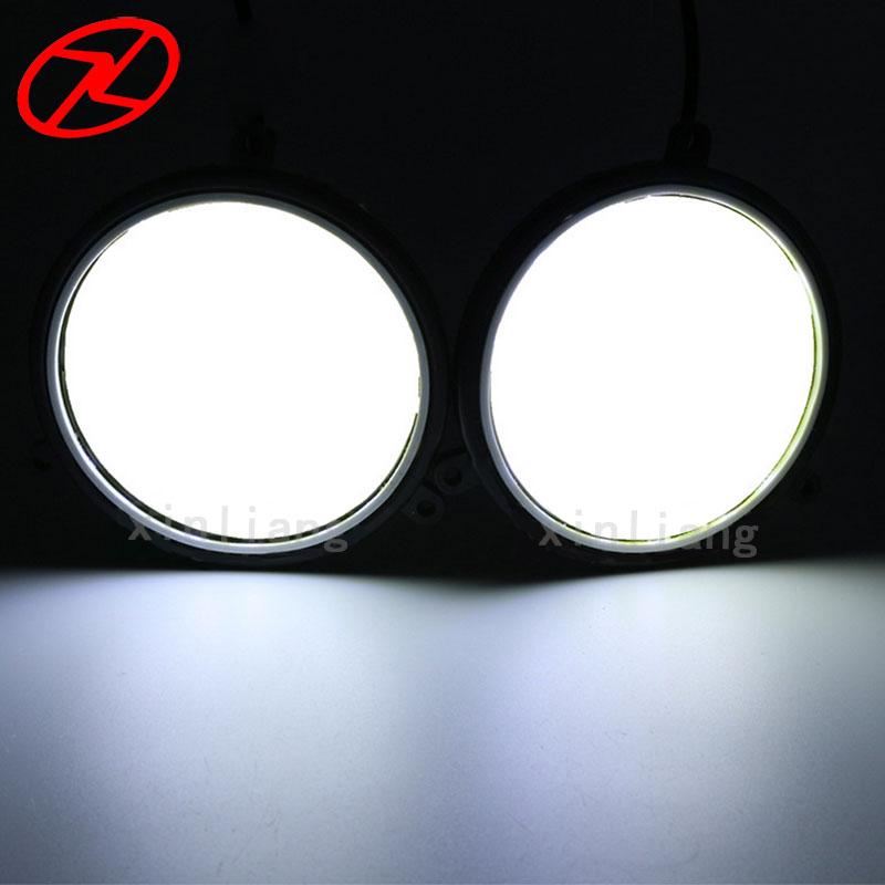 2PCS Super Parlaq LED DRL Gündüz işləyən Duman Sürmə - Avtomobil işıqları - Fotoqrafiya 4