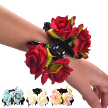 M MISM Big Autumn Rose Flower Hair Claws Korean Fashion Styl