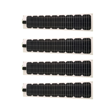 Flexible Panneau Solaire 12v 20w 4 Pcs  Paneles Solares 80w 220v Solar Battery Charger Lamp Led Marine Car Camp Caravan Lighter