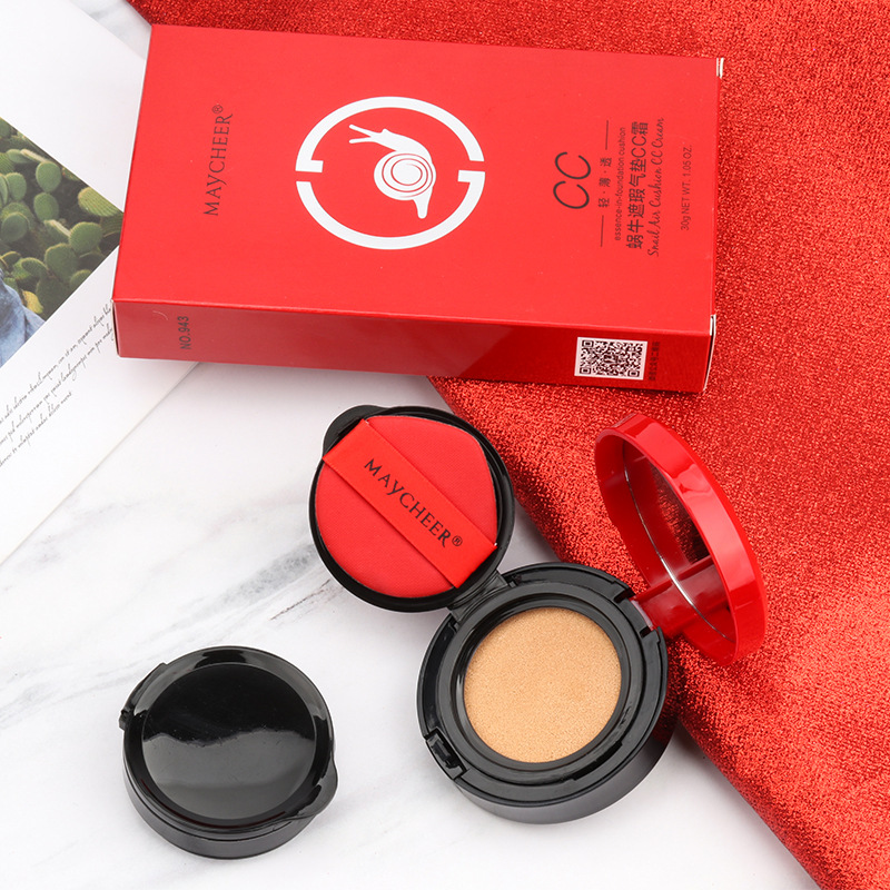 New Korean Cosmetics Air Cushion BB CC Cream Moisturizing Concealer Face Foundation Makeup Whitening Beauty Set