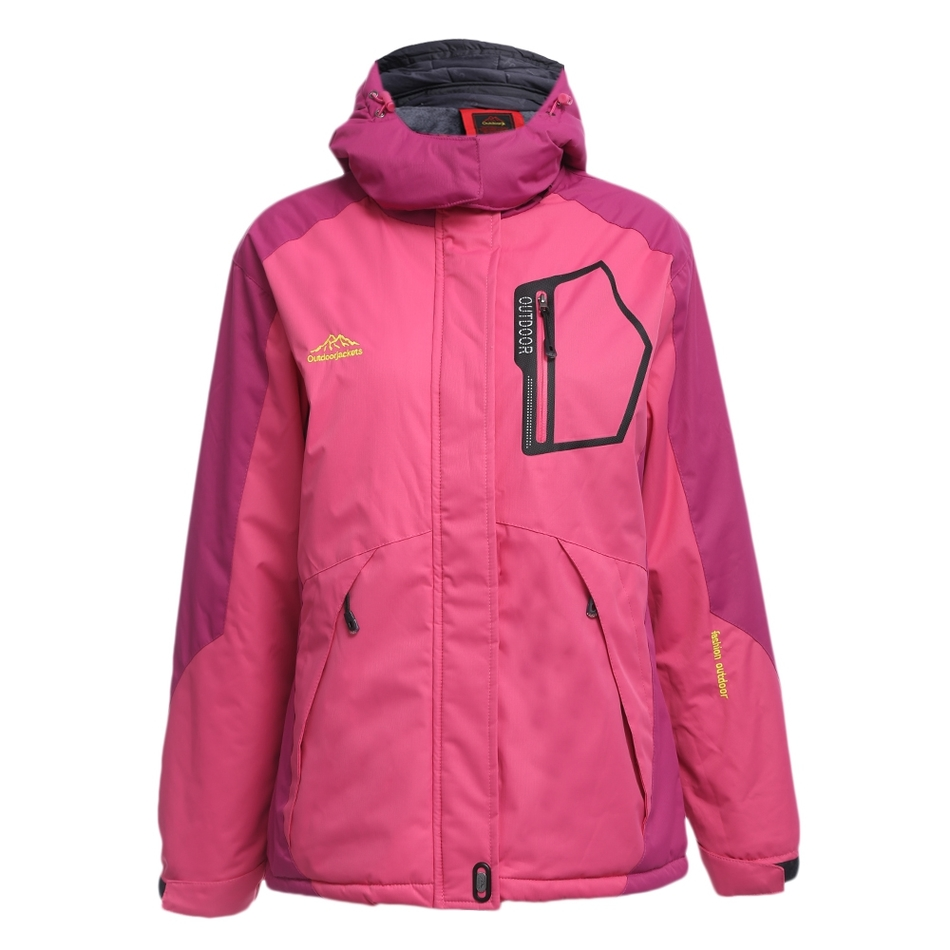 Women Water Resistant Windproof Breathable Skiing Snowboarding Jacket
